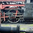 Old locomotive in museum — Stock Photo
