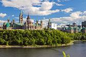 国会山,渥太华,安大略省加拿大 — 图库照片