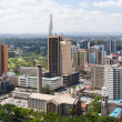 Nairobi, capital city of Kenya — Stock Photo #8337382