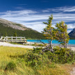 Beautiful Canadian Landscape, Banff National Park, Alberta, Canada — Stock Photo
