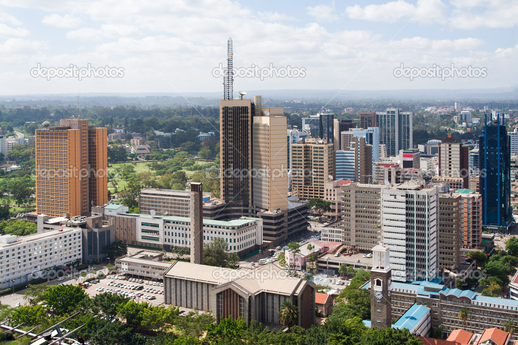 nairobi capitale du kenya