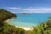 New Zealand Landscape. Abel Tasman National Park. — Stock Photo