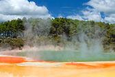 Wonderland geotermica di wai-o-tapu, rotorua, nuova zelanda — Foto Stock