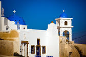 Cathedral on Santorini — Stock Photo