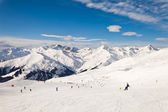 The winter resort Mayrhofen, Austria — Stock Photo