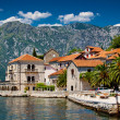 Perast town in Montenegro — Stock Photo