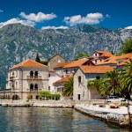 Perast town in Montenegro — Stock Photo
