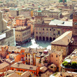 Bologna city view, Italy — Stock Photo