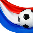 Holland loves football — Stock Photo