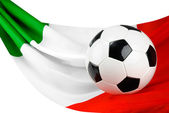 Italy loves football — Stock Photo