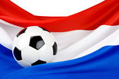 Holland's passion for football — Foto Stock
