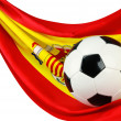 Royalty-Free Stock Photo: Spain loves football