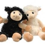 Two very cute stuffed animals — Stock Photo