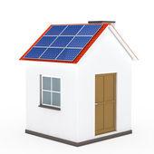 House solar panel — Stock Photo