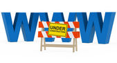 Www under construction — Stock Photo