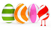 Easter egg figure — Stock Photo