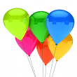 Colorful balloon — Stock Photo #9663792