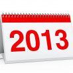 Calendar 2013 — Stock Photo #9875218