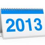 Calendar 2013 — Stock Photo #9941209