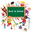 Back to school. — Stock Vector
