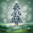 Kerstboom — Stockvector #9682130