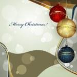 Christmas greeting card — Stock Vector #9682216