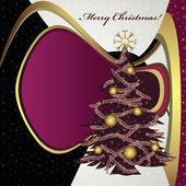рождественская елка — Cтоковый вектор