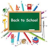 De vuelta a la escuela — Vector de stock
