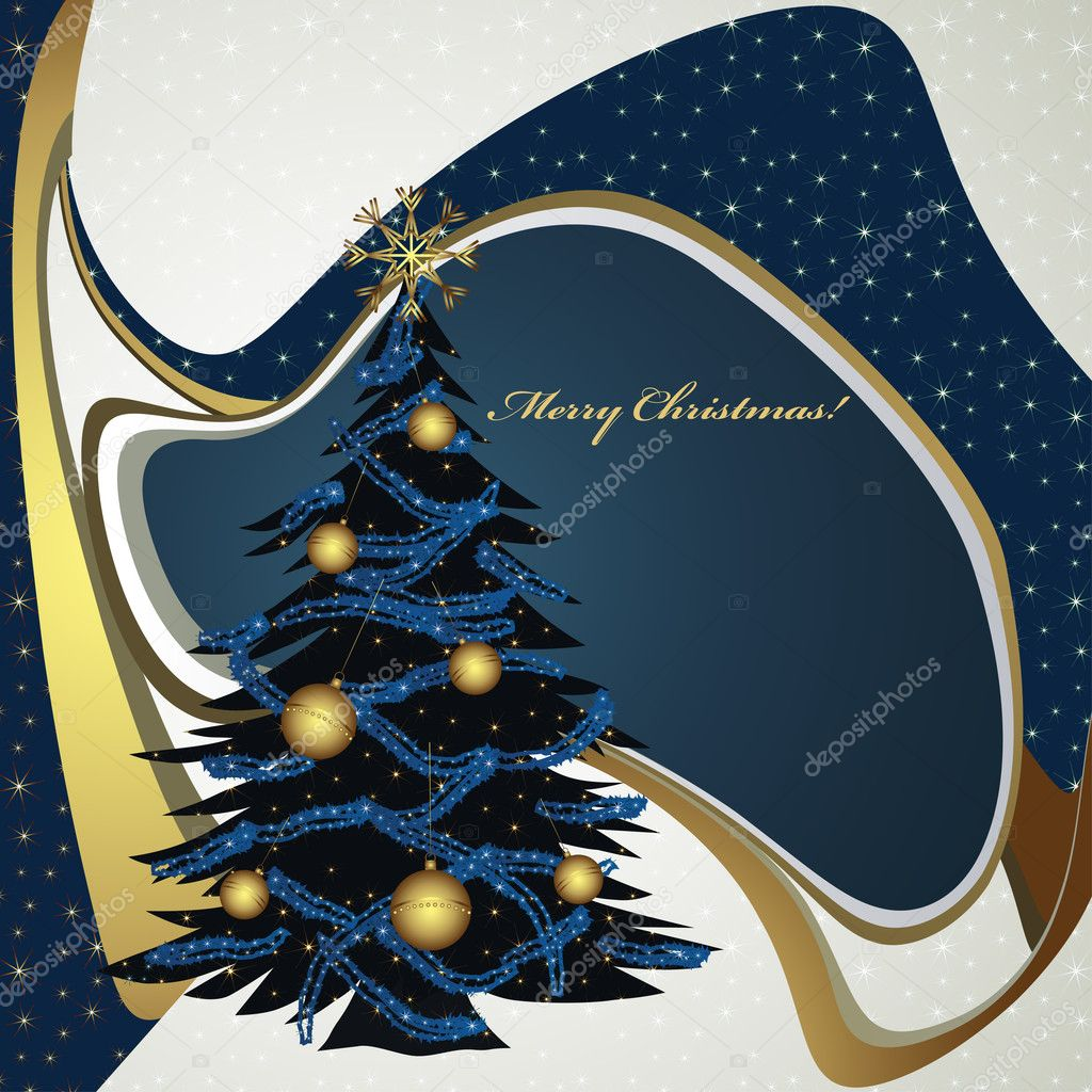 Christmas card — Stock Vector #9681239