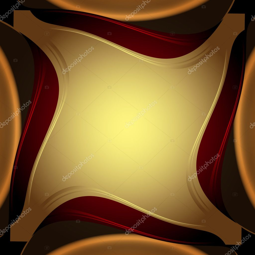 Abstract background, elegant gold banners  — Stock Vector #9682182