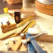 The carpenter  workshop — Stock Photo