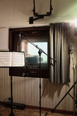 Recording room studio — Stock Photo