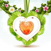 Tarjeta de San Valentín ' s Day — Vector de stock