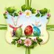 Easter card - Image vectorielle