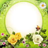 Springtime background — Stock Vector