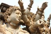 Durga and demon — Stockfoto