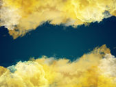 Clouds frame — Stock Photo