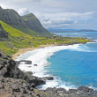 Stock Photo: Hawaiian coastline