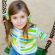 Stock Photo: Portrait of happy cute child on playground
