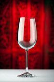 Copo de vinho branco — Fotografia Stock
