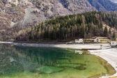 Lago di Poschiavo — Stock Photo