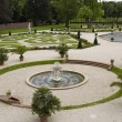 Nice fountain of Het Loo Palace garden — Stock Photo