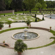 Stock Photo: Nice fountain of Het Loo Palace garden