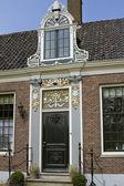 Porta de estilo antigo em zaanseschans — Foto Stock