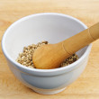 Mortar and pestle — Stock Photo #10665844