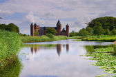Old Dutch Castle in Domburg, Holland — Stock Photo