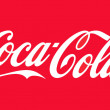 Coca-Cola logo — Stock Photo