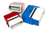 Self-ink rubber stamps — Stock Photo