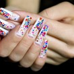 Nail art design. — Stock Photo #8121256