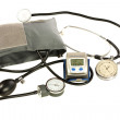 Blood pressure cuff — Stock Photo